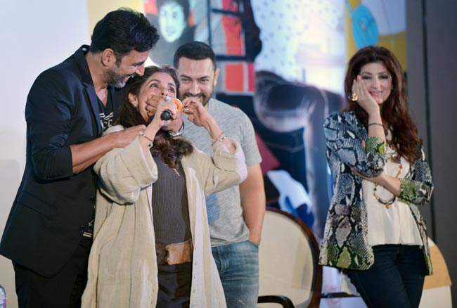 Image result for twinkle khanna book launch