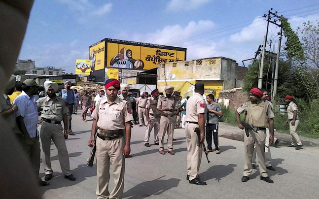 Terror attack in Punjab