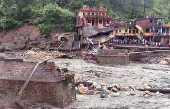 In Oct 2012, Uttarakhand govt received a report on the aftermath of flash floods in August, 2012.