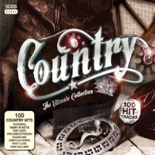 Country The Ultimate Collection (5 Cds)  Jpc