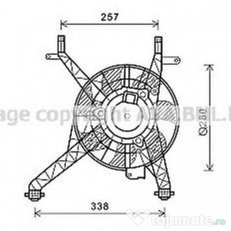 Radiator racire ulei VW3147 VW PASSAT (3B2) 2.8 V6 Syncro