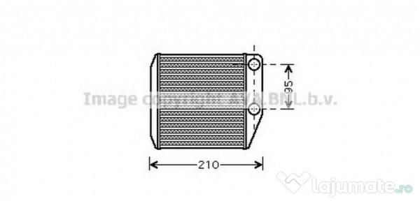 Radiator habitaclu FTA6313 FIAT PUNTO (199) 1.2 51kw 2012