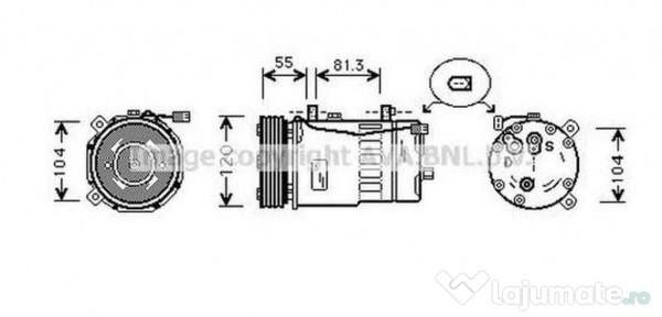 Radiator habitaclu VW6069 SKODA OCTAVIA (1U2) 1.9 TDI 66kw