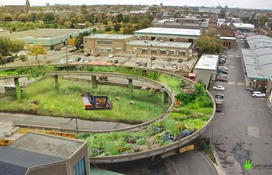 Le projet de reconversion de l'incinérateur des Carrières en jardins suspendus, proposé par l'entreprise la Cathédrale verte, est une excellente nouvelle. La planification est l'aménagement de la fameuse rampe d'accès avec, entre autres, 15potagers en bac.