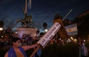 Manifestations en Argentine contre les «vaccinations VIP»