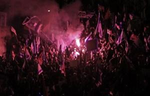 Vaste manifestation anti-Netanyahu à trois jours des élections en Israël