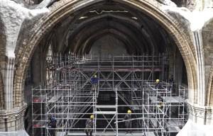 La reconstruction de la cathédrale Notre-Dame de Paris débutera en 2022