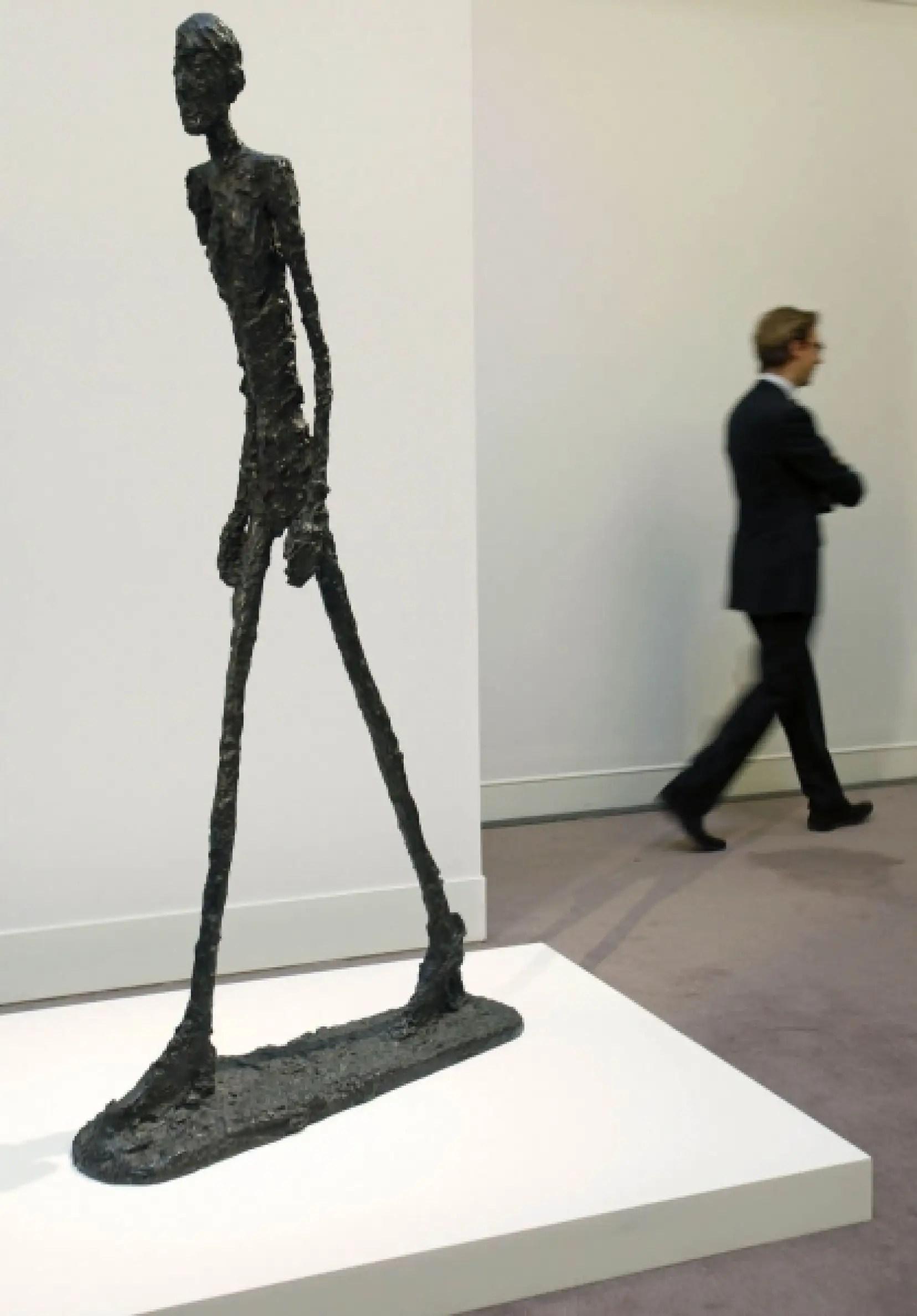 L'Homme qui marche d'Alberto Giacometti : focus sur un