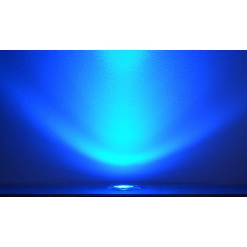 spot 230v encastrable exterieur led cob 3w bleu