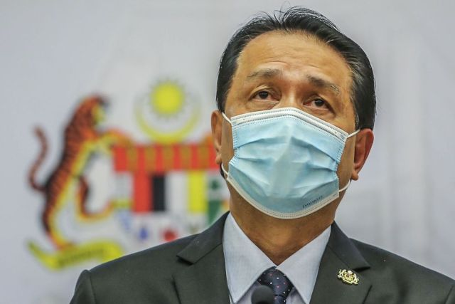 Health director-general Tan Sri Dr Noor Hisham Abdullah said the new cases announced on Aug 13 involved five in a family with the first symptomatic case being the individual who attended the sitting. — Picture by Hari Anggara
