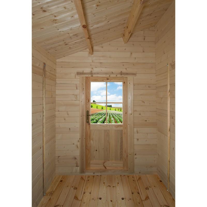 bois massif 28mm brut 5 96m gardy shelter