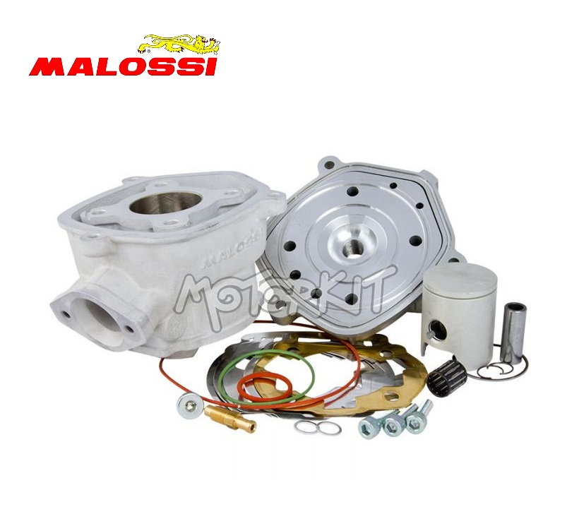 malossi mhr team cylinder head racing kit 50cc for derbi euro 3 d50bo