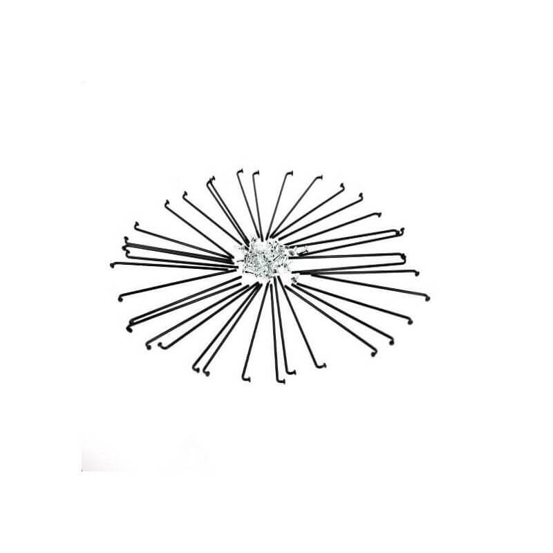 Set of 36 straight spokes for Honda Cub (with nipples