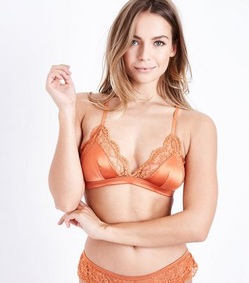 Bralet orange newlook