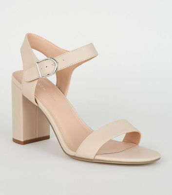 heeled sandals barely there