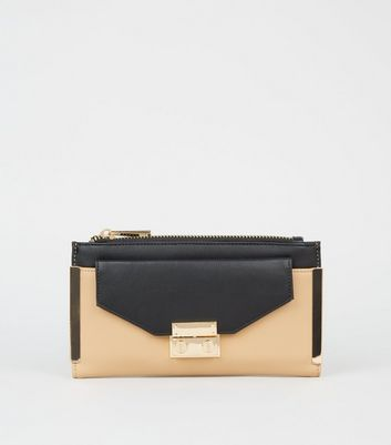 purses colour block zip