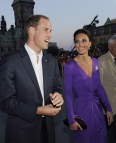 Kate Middleton In Purple Issa Dress With