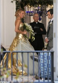 Blake Lively's Wedding Dress on Gossip Girl