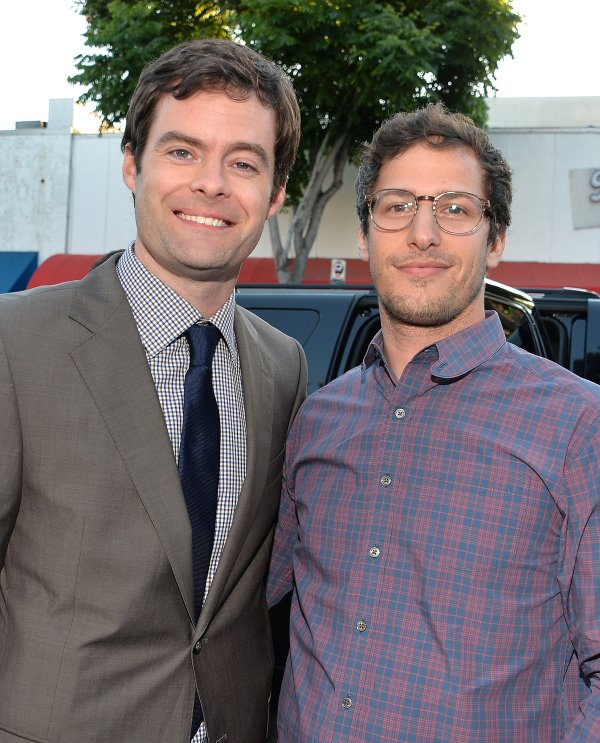 Bill Hader Linked With Andy Samberg Premiere Of