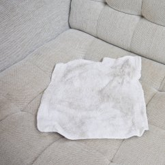 How To Clean Stains On Fabric Sofa Narrow Depth Leather A Natural Couch Popsugar Smart Living