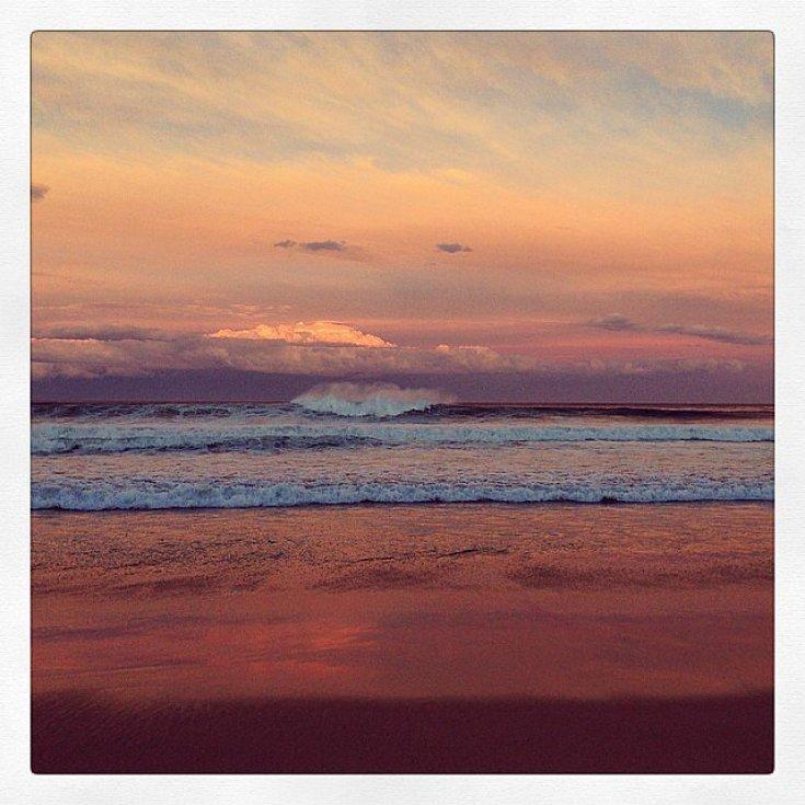 Miranda Kerr captured a stunning sunset.  Source: Instagram user mirandakerr