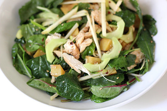 Baby Kale Chicken Salad