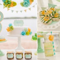 Beach Baby Shower | POPSUGAR Moms