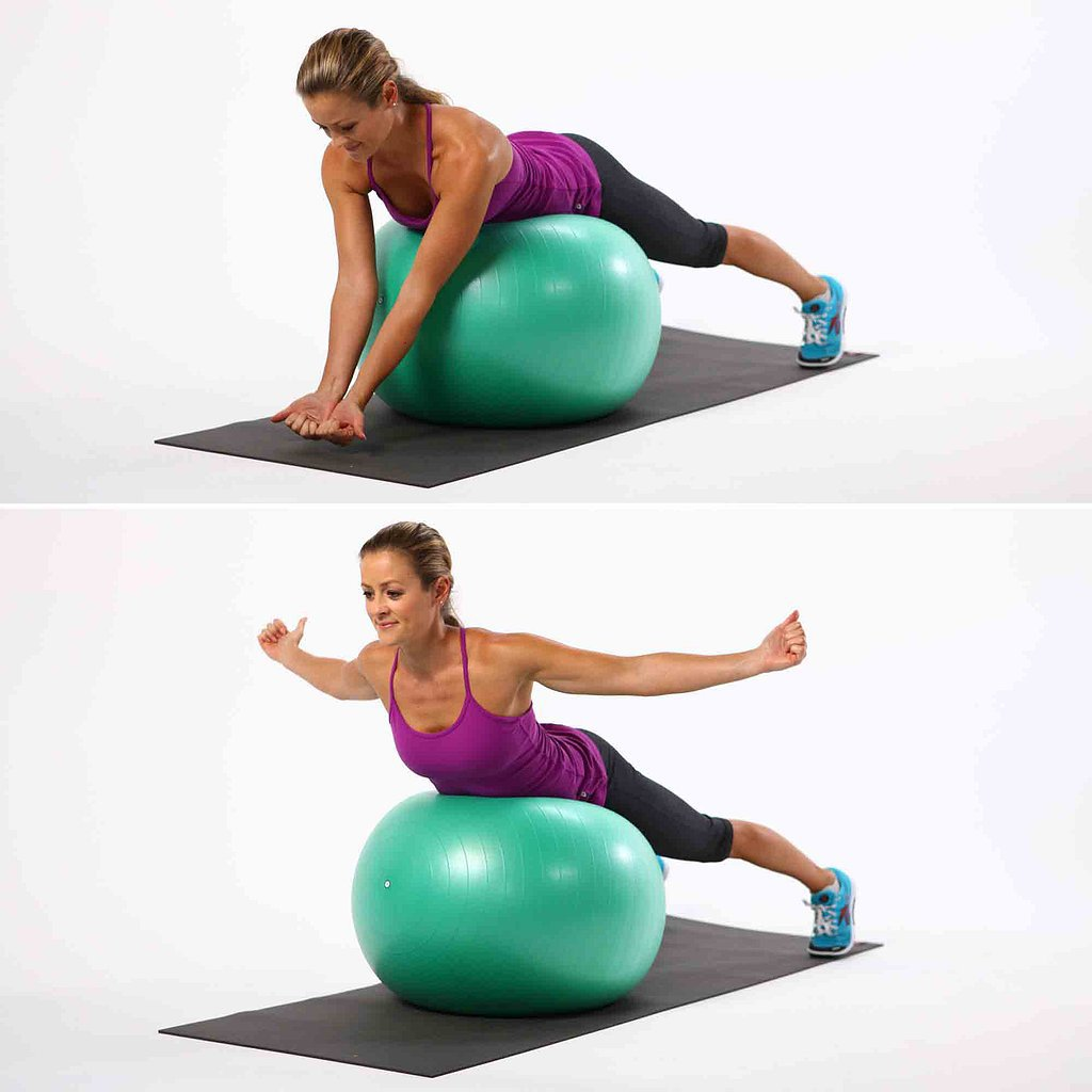 Back Extensions | Tame Back Bulge With 4 Exercise-Ball ...