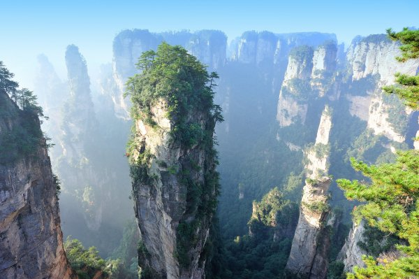 Zhangjiajie National Forest Park China 83 Unreal Places Thought Existed In