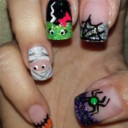 halloween nail art ideas popsugar