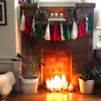 Fill a Fireplace With Candles | 39 Clever Home Hacks For ...