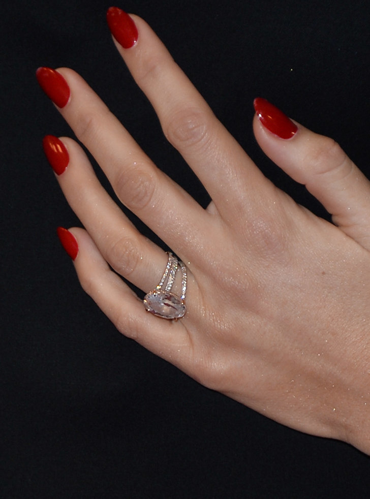 The Ring 18 Stunning Nontraditional Celebrity Engagement Rings Popsugar Celebrity