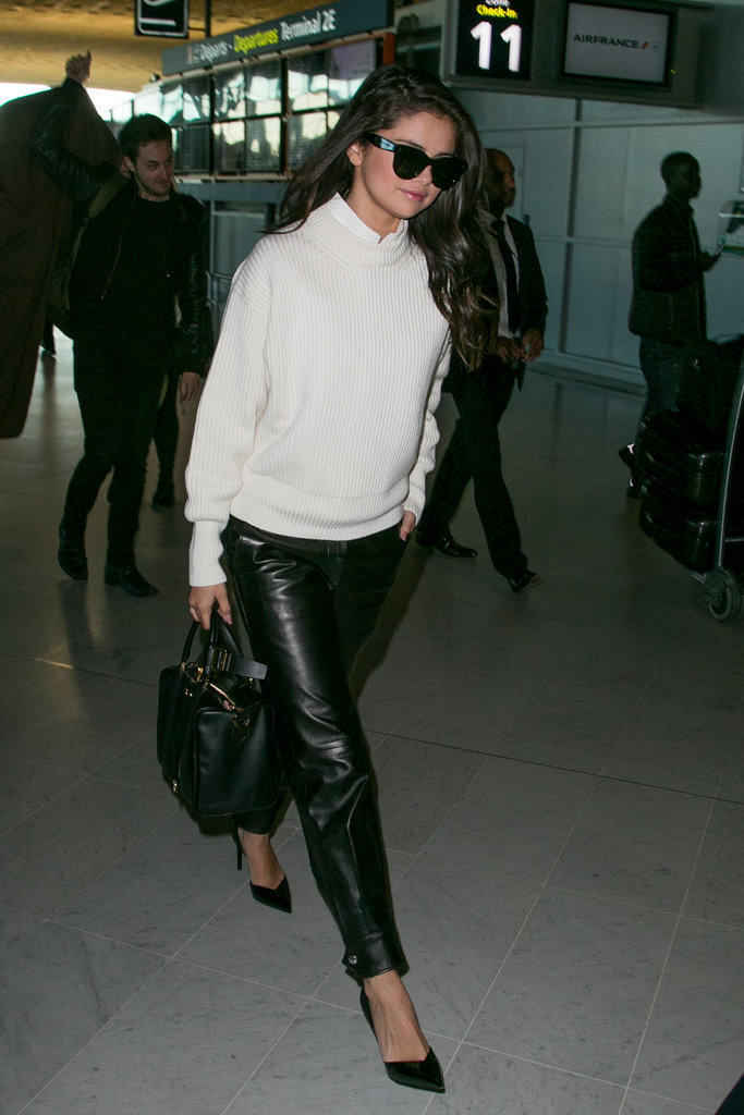 Image result for selena gomez airport style