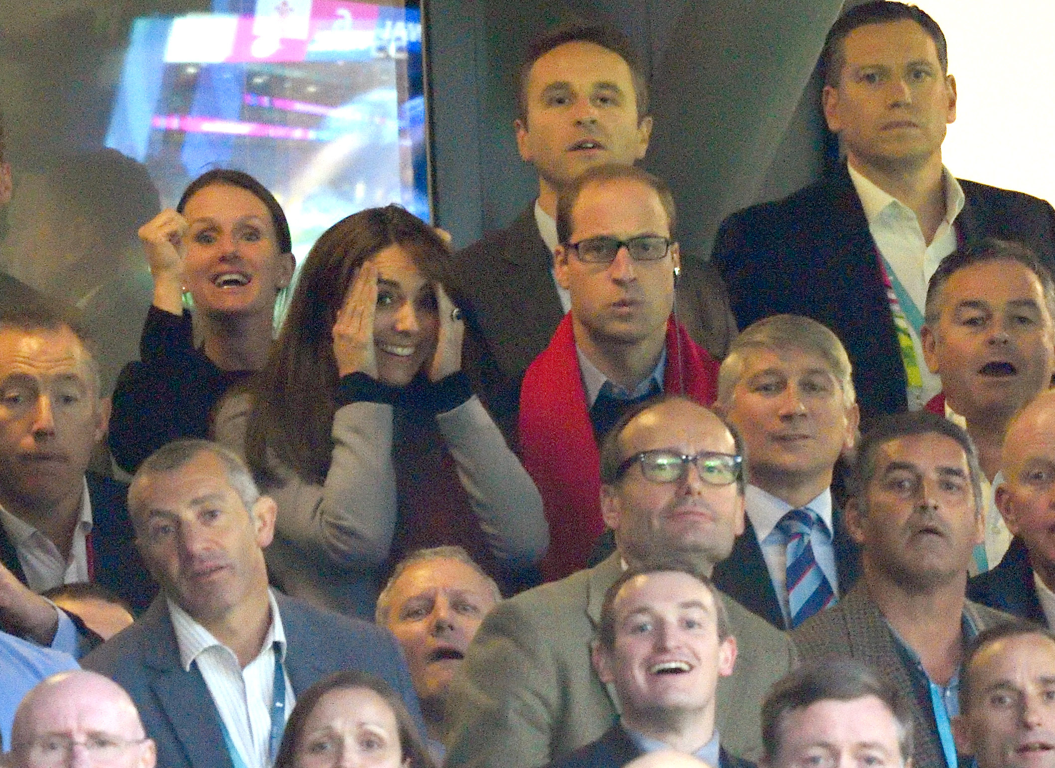 Kate Middleton ostenta il suo spirito di gruppo alla Coppa del Mondo di rugby