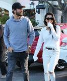 Kourtney Kardashian riunisce con Scott Disick un il giorno prima del ringraziamento