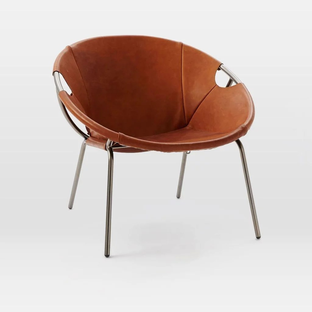 leather sling chairs rush seat dining new home decor editor must haves august 2016 popsugar