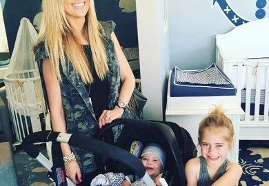 Christina El Moussa S Difficult Birth Popsugar Home