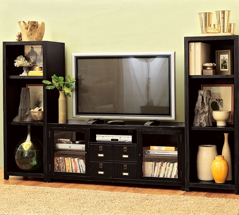 Steal of the Day Pottery Barn Rhys Media Tower  POPSUGAR