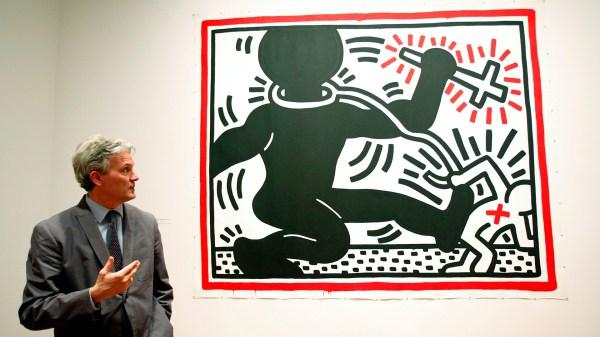Keith Haring Activist Artist' Politics Display In