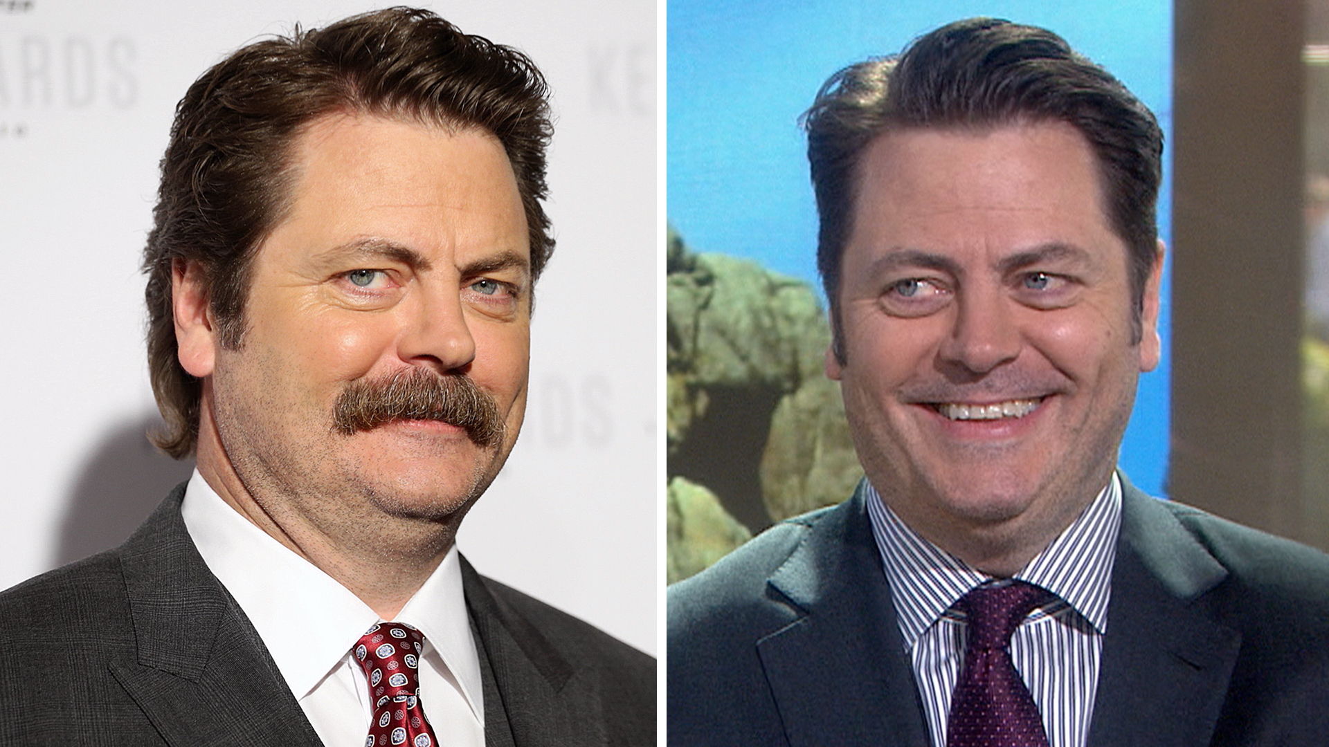 Nick Offerman My Mustache Is Only A Tool