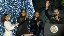 Obama Family Christmas Tree