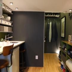 Painting Ideas For Kitchen Antique Appliances See How One Man Lives In A 150-square-foot Apartment ...