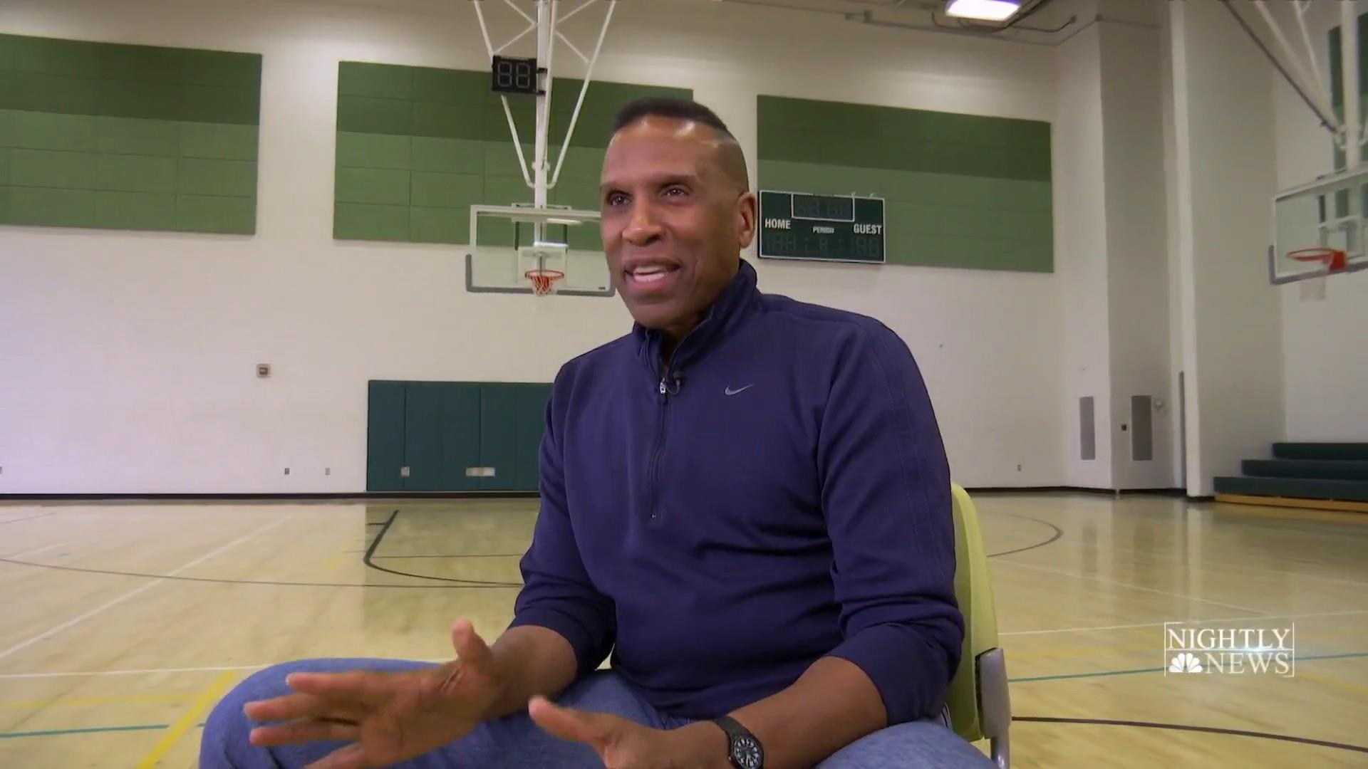 A former NBA superstar gives back to kids in his community