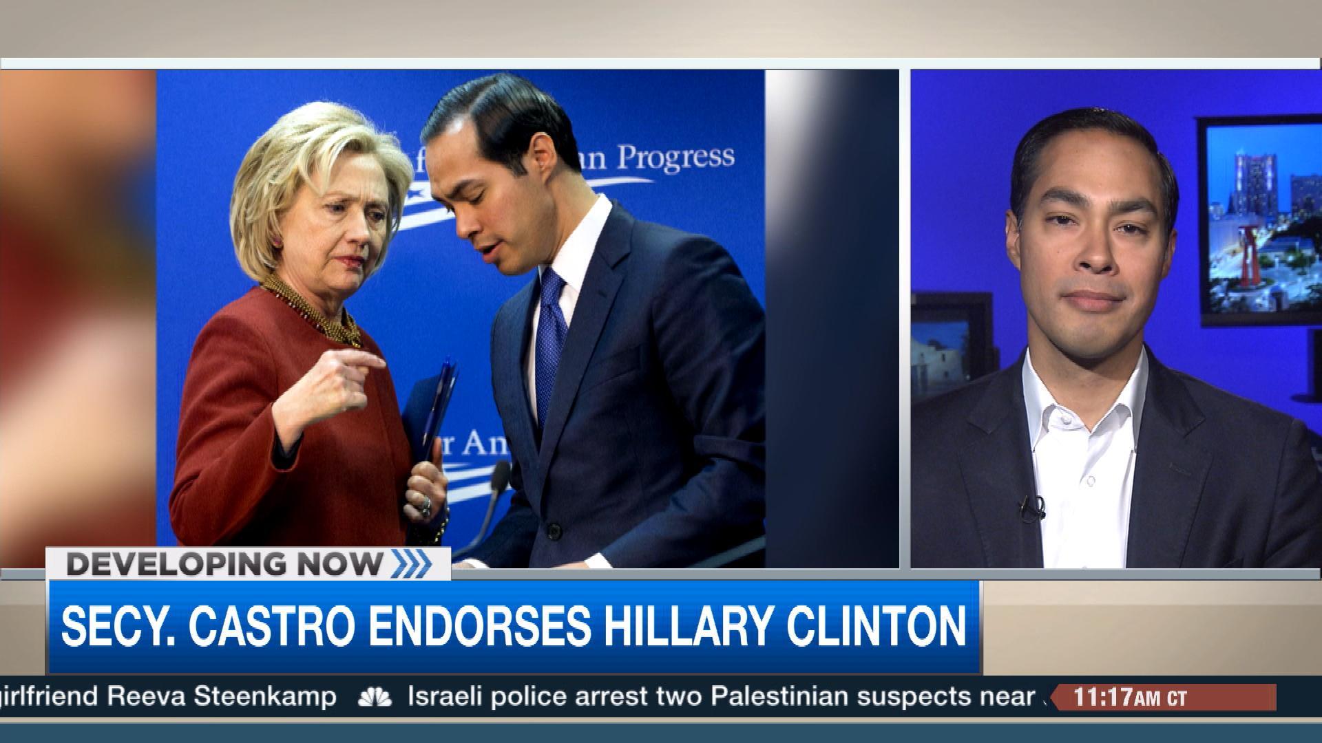 secretary julián castro endorses