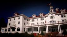 Haunted Postcard Field Stanley Hotel - Nbc