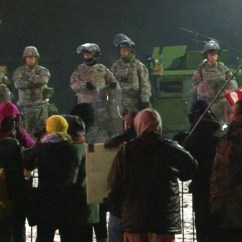 30 Second Chair Stand G Code Purple Lounge National Guard In Ferguson Taunted By Demonstrators Nbc News