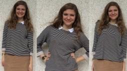 Inappropriate High School Short Skirt