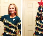tacky christmas tree sweater