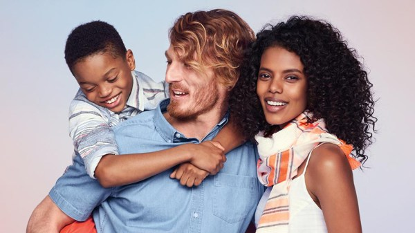 Old Navy Ad Interracial Family