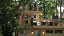 Treehouse Masters Frank Lloyd Wright-inspired